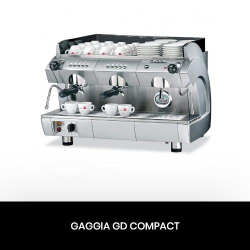 Ремонт професійних кавоварок Gaggia GD Compact в Києві і Харкові