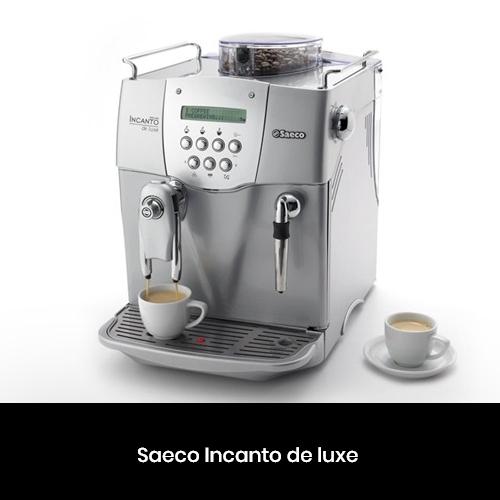 Ремонт кавоварок Philips Saeco Incanto de Luxe у Києві та Харкові